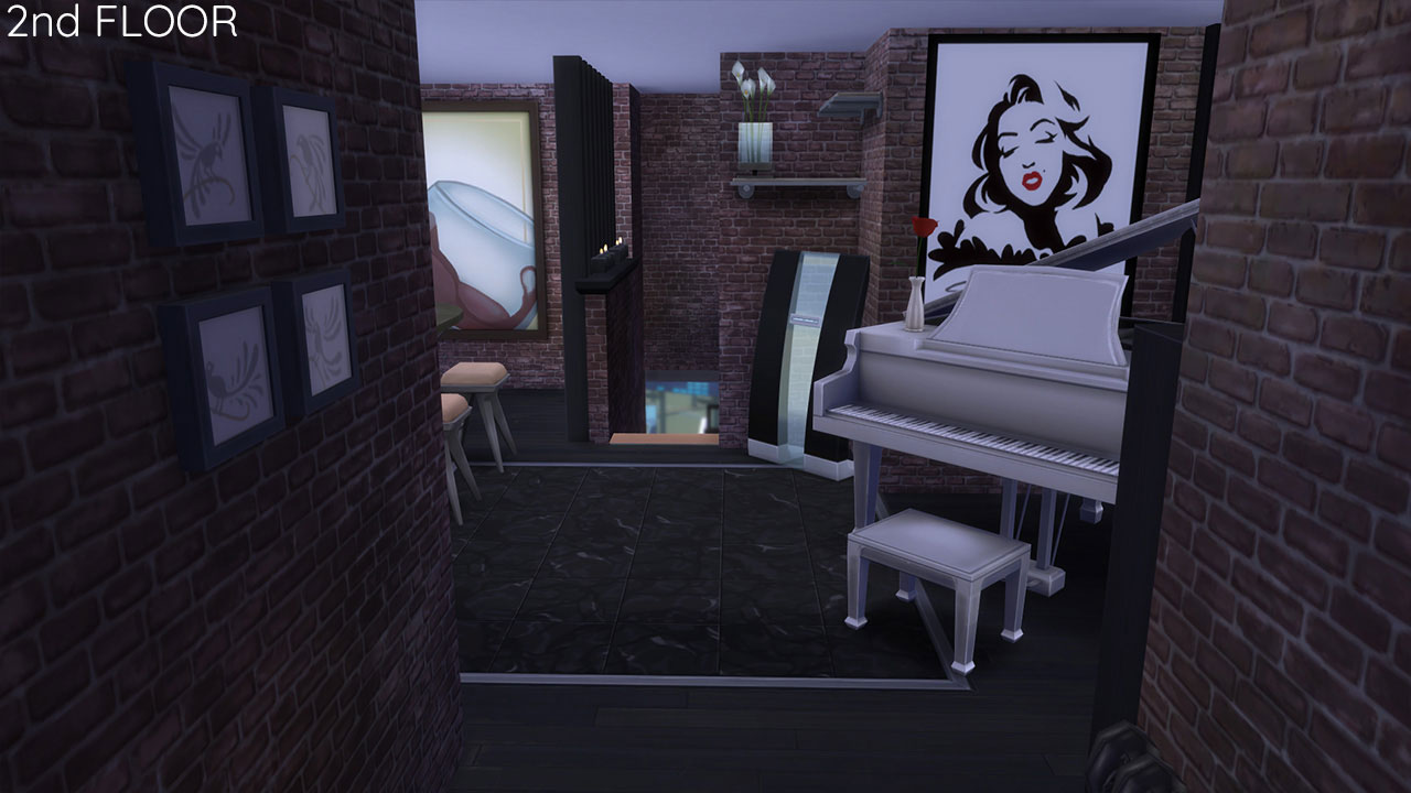 The sims 4 Apartment 701 inside view