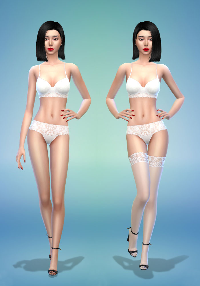 The sims 4 cc sexy lingerie