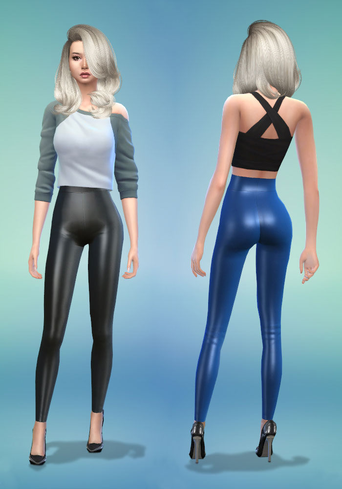 The sims 4 cc leather leggings