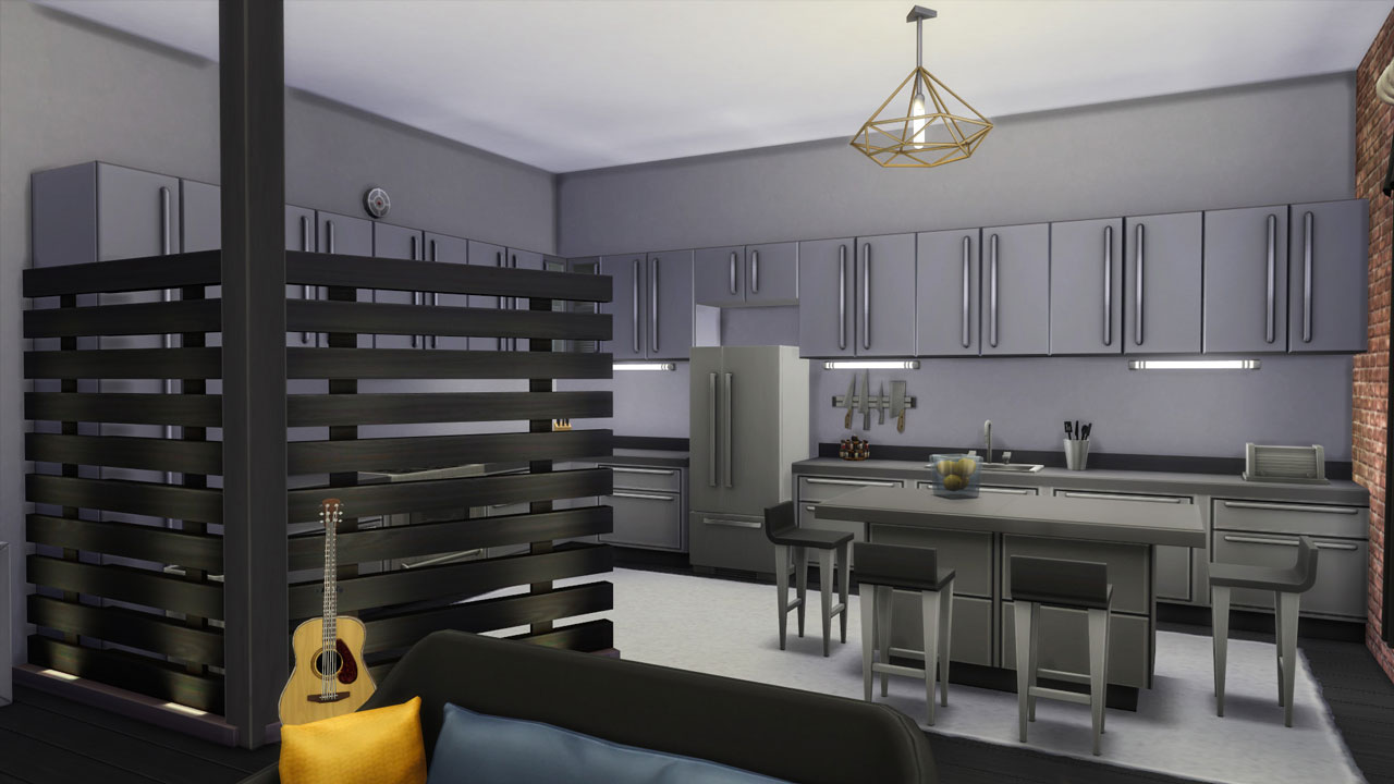 The sims 4 18 Culpepper House kitchen
