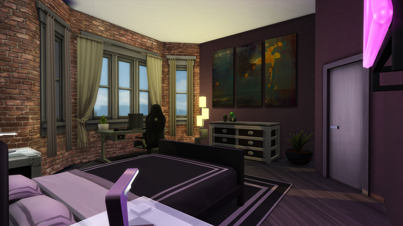 The sims 4 18 Culpepper House bedroom