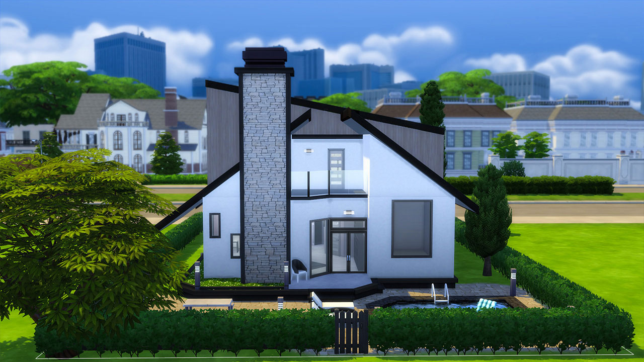 The Sims 4 modern house